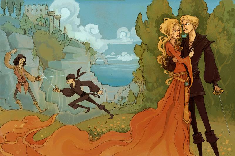 Princess Bride Characters Art