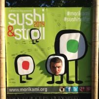 An angry sushi roll at Sushi & Stroll at Morikami