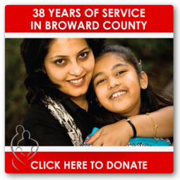One of many digital ads used on the Women In Distress website, as well as social media channels like Facebook and Pinterest