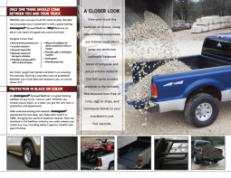 2010 sales brochure, inner spread