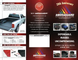 2010 sales brochure, outer spread