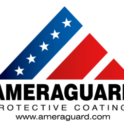 After deciding to re-brand and distinguish themselves from their Canadian branch (Armaguard), I created this red, white and blue logo for Ameraguard. This logo was also used as the basis for the wider re-branding of other collateral materials