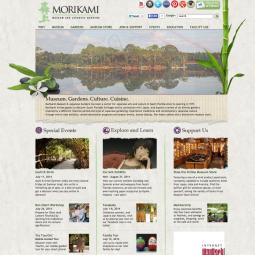 Morikami.org before the re-design